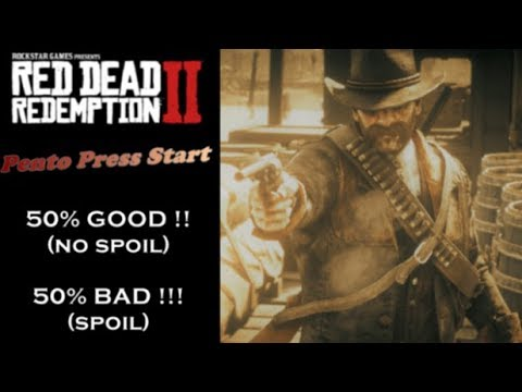 Mon avis sur RED DEAD REDEMPTION 2 - 50% Bien (No Spoil) / 50% Pas Bien (Spoil) - PPS