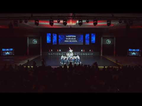 2019 DTU Nationals Finals Small Varsity Hip Hop Western Dubuque High School