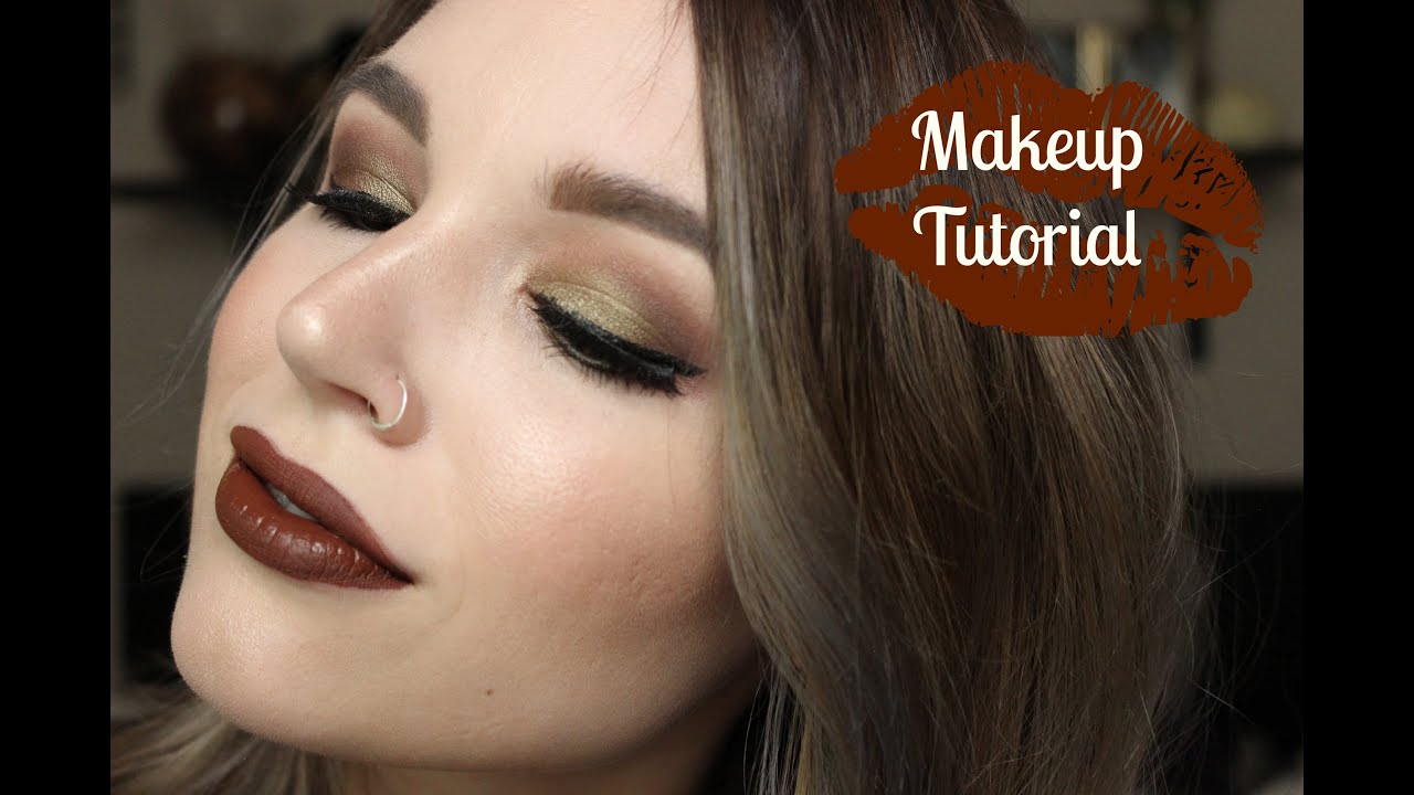 Warm fall olive brown mac makeup tutorial youtube warm fall olive brown mac makeup tutorial baditri Gallery