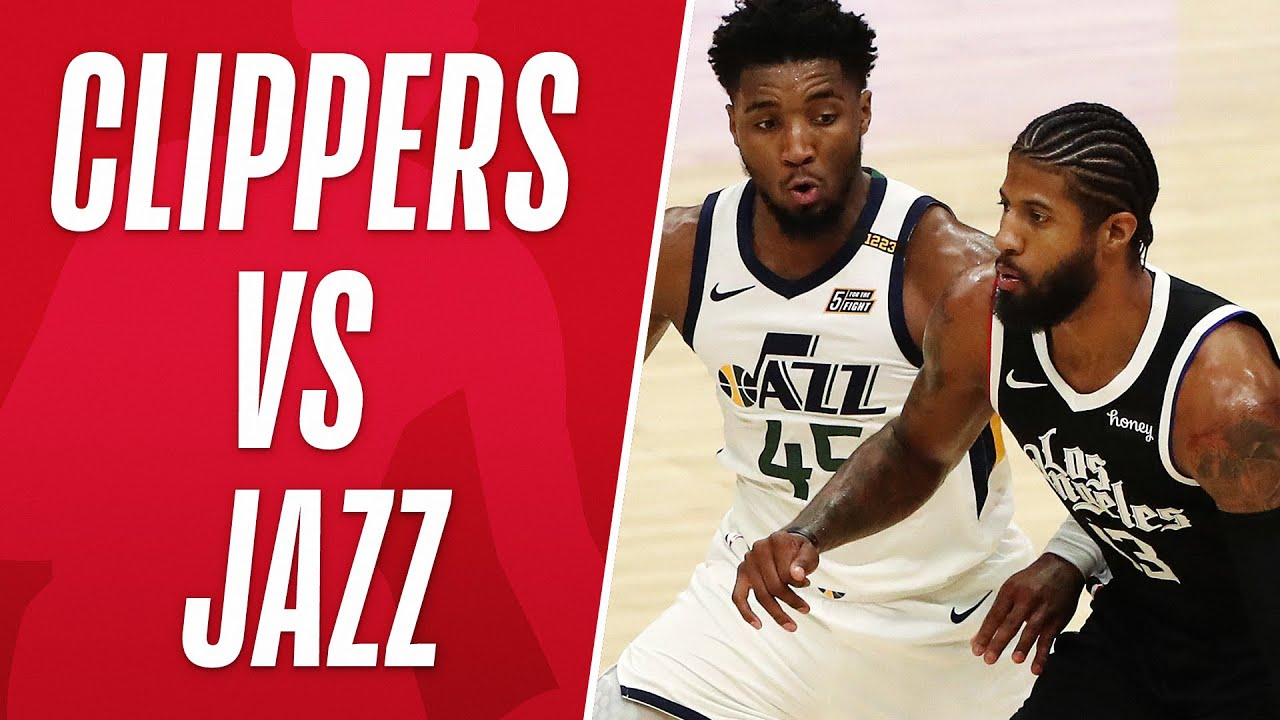 Best Moments From Clippers vs Jazz Season Series! 📺