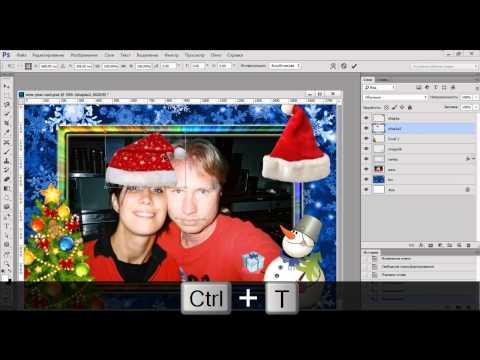 Фотоэффекты онлайн, бесплатные фоторамки, вставить фото в