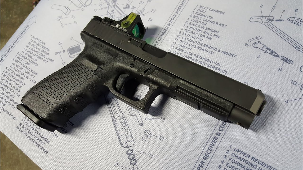 Shocking Glock 41 Gen 4 MOS FAIL!!! Trijicon RMR