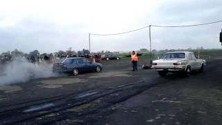 Dakota Raceway Burnouts