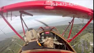 Outer Banks Air Tours in WWII Biplane with Tor and Caleb Thumbnail