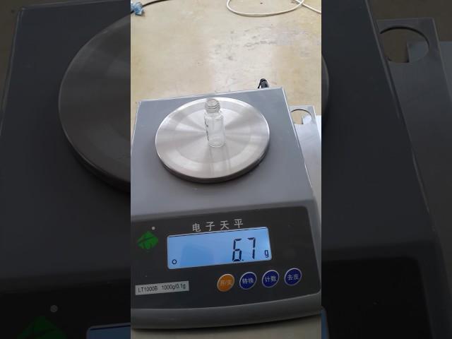 small volume powder filling machine 2g