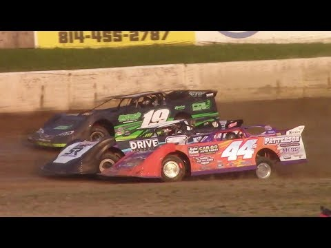Super Late Model Heat Two | Eriez Speedway | 8-6-17