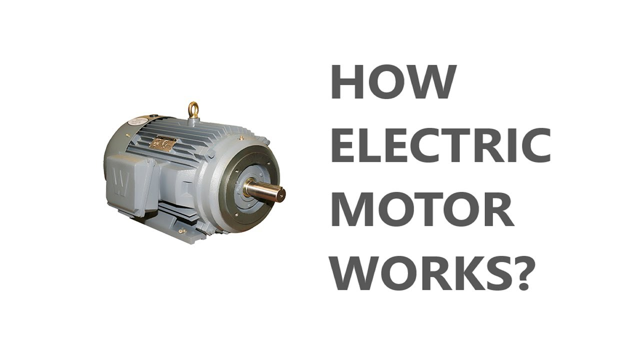 How Does An Electric Motor Work >> How Electrical Motor Works