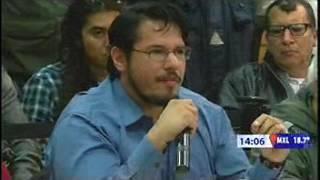 En vivo diálogo de alcalde con manifestantes 19 ene 2017