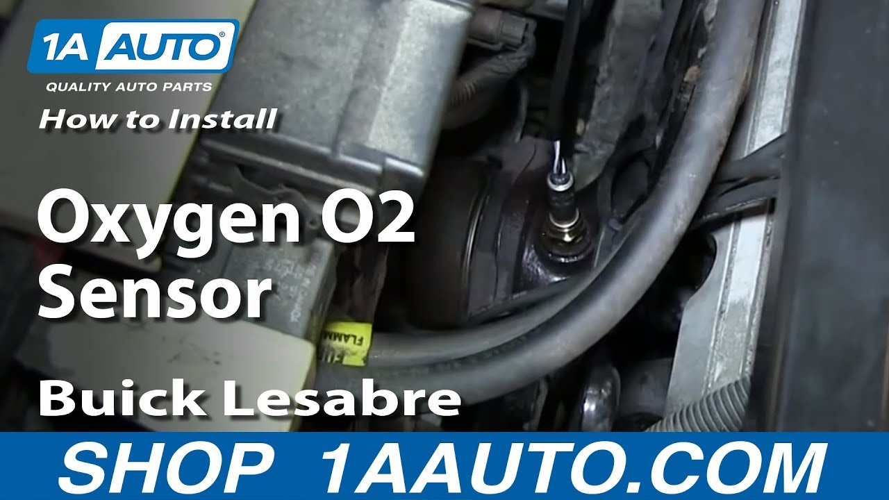 How To Install Replace Oxygen O2 Sensor 1997 99 Buick Lesabre Youtube
