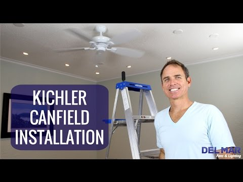 kichler canfield ceiling fan installation youtube Ceiling Fan Replacement Parts