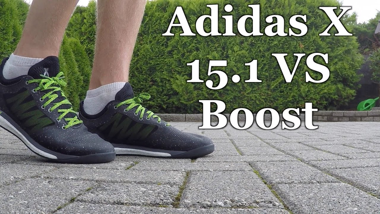 4e8917fc3 Adidas X 15.1 VS Boost unboxing and review - YouTube