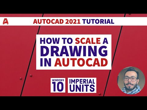 how-to-scale-a-drawing-in-autocad- -autocad-lt-2021-tutorial