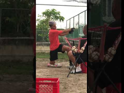 Jose M Torres - batting workout-1