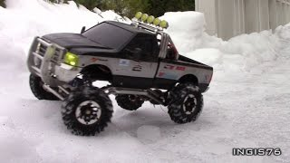 RC TRAIL FORD F350 EXPEDITION MFC02 V8 SOUND AND LIGHT UNIT INSTALLED