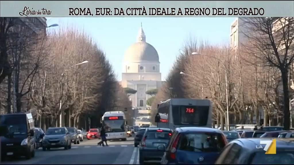 Roma eur da citt ideale a regno del degrado youtube for Affitto roma eur arredato