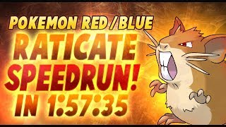 Pokemon Red/Blue Raticate% Speedrun (Current World Record with Articuno capture bonus!)