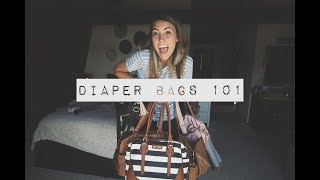 DIAPER BAG 101    Fawn Design + Lily Jade + Coco and Kiwi