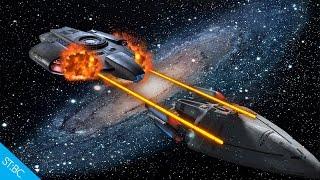 U.S.S. Defiant vs U.S.S. Prometheus! - Star Trek Bridge Commander Kobayashi Maru