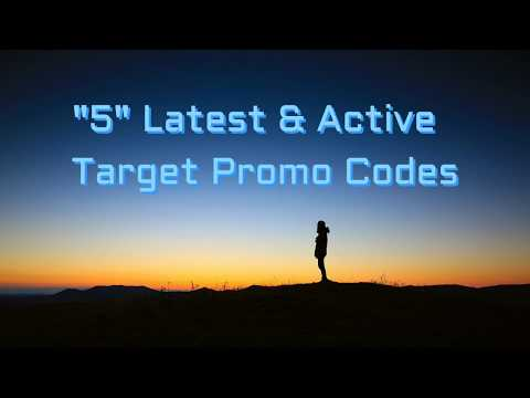 TARGET: $5 Off $50 Active Target Promo Code & Free Shipping 2018
