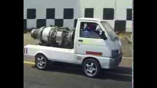 もしも軽トラがジェットエンジンを積んだら…