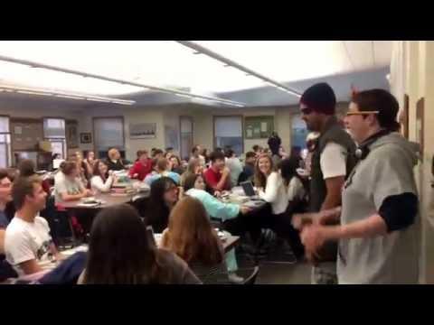 Delphian School Halloween - Upper School Teachers Flash Mob Thriller
