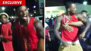 meek mill and the game beef ends in knock out animated cartoon