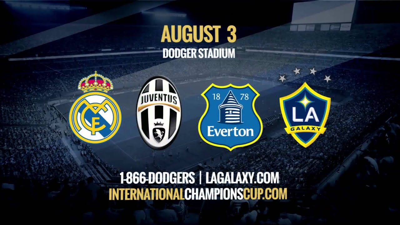 The opening match of the inaugural guinness inter national champions - 2013 Guinness International Champions Cup