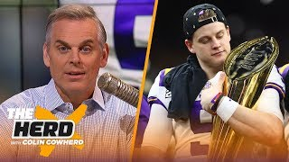 Joe Burrow is an 'American story,' losing was a good thing for Trevor Lawrence | CFB | THE HERD