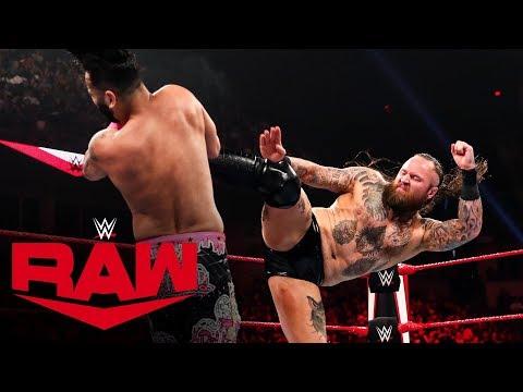 HINDI - The Singh Brothers ne Aleister Black ke saath ek fight pick kiya: Raw, Oct. 8, 2019