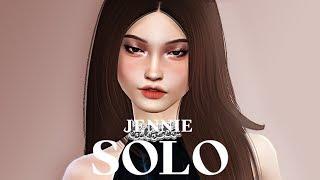 Download The Sims 4 Create A Sim 2 Jennie Blackpink Cc Links