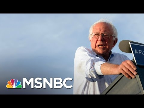 Numbers Show How Bernie Sanders Supporters Could Vote | Morning Joe | MSNBC