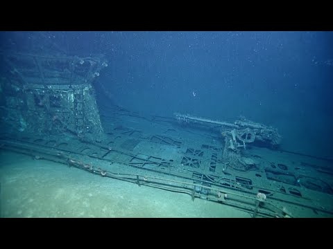 Exploring the Mystery of the Sunken German Submarine   (Full