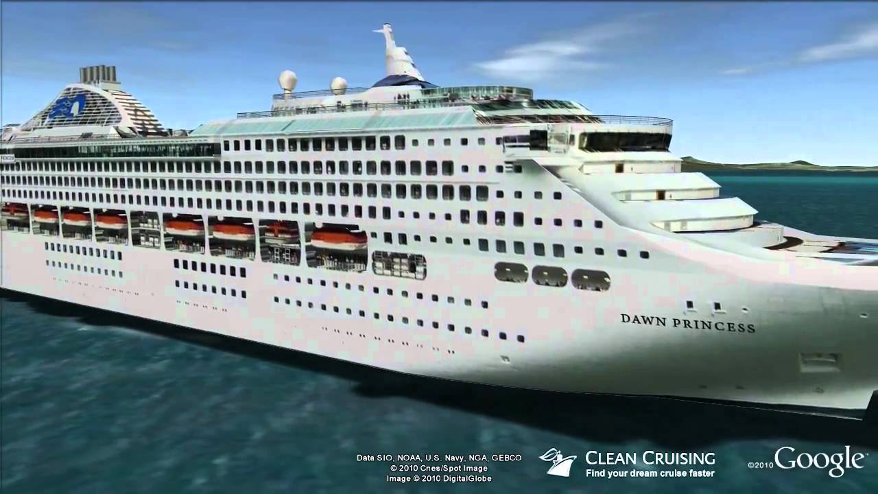 Dawn Princess Virtual Ship Tour YouTube - Cruise ship dawn