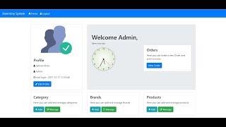 Inventory management system using php, mysqli, jquery ajax