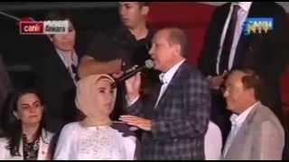 Repeat youtube video Başbakan Recep Tayyip Erdoğan Emine Erdoğan'ı Azarlıyor