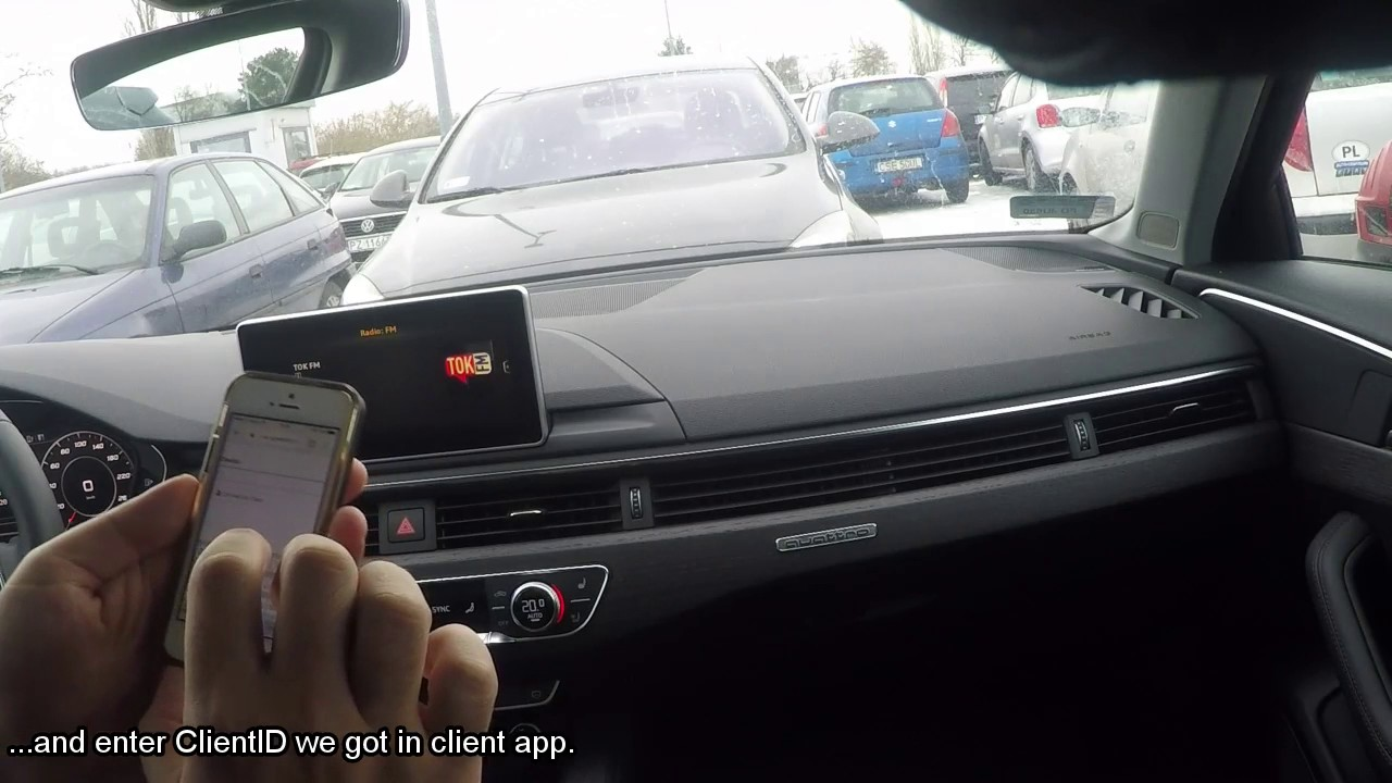 Remote disable Start/stop in Audi A4 2016 by iPhone - YouTube