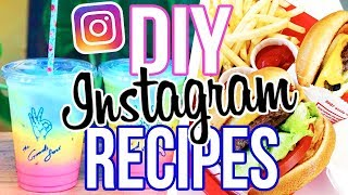 DIY INSTAGRAM RECIPES!! In N Out, Rainbow Latte + More!