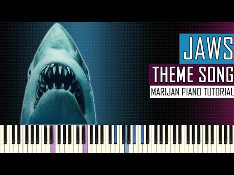 How To Play: Jaws - Theme Song | Piano Tutorial