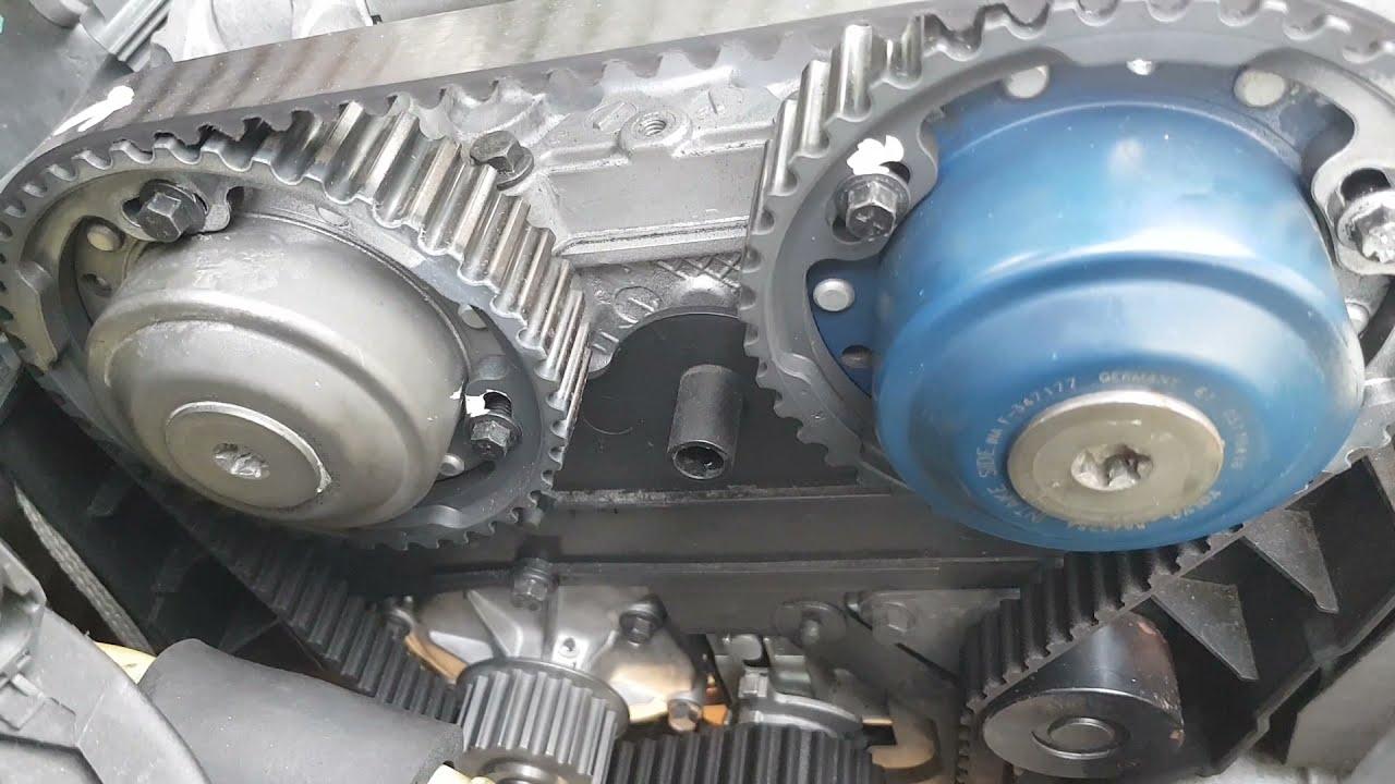 Volvo XC90 2.5L Turbo Timing belt setup - YouTube   Volvo Timing Belt      YouTube