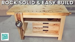 Plans can be found here http://paskmakes.com/plans/ A woodworking workbench is something I
