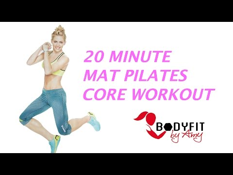 20 Minute Mat Pilates Core Workout That Works Your Abs for a Strong Core
