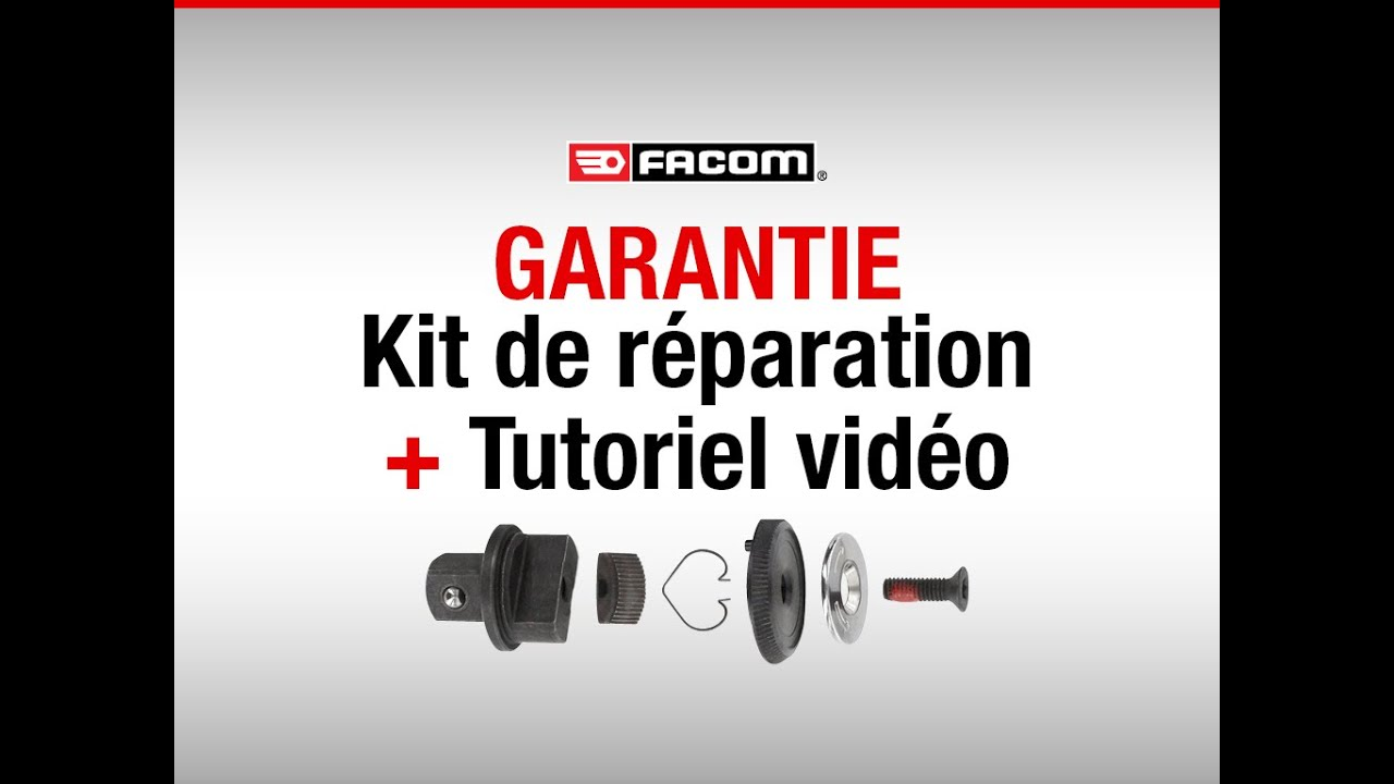 garantie kit de reparation tutoriel video r parer son cliquet facom youtube. Black Bedroom Furniture Sets. Home Design Ideas