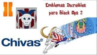 Emblemas Black Ops 2 - Chivas (Fútbol Mexicano)