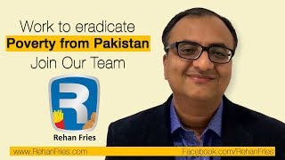 What Is Rehan Fries | Rehan Fries | A Project of Rehan Foundation