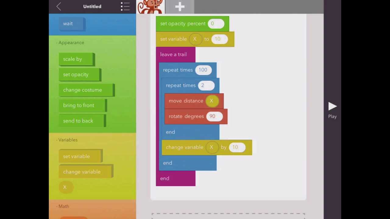 iPad App: Hopscotch, Advanced Introduction for Computer ...