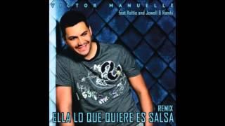 Víctor Manuelle Ft Voltio, Jowell & Randy -- Ella Lo Que Quiere Es Salsa (Reggaeton Remix iTunes)