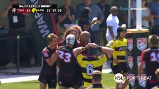 Utah Warriors clinch Major League Rugby playoff bid with win over Houston