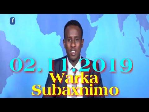 Warka Subaxnimo SNTV 02.11.2019