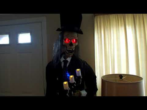 Halloween Fortune Teller Animatronic.Repeat Gemmy Animated Zultan Fortune Teller Restored By Gemmy