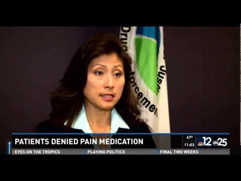 Patients Denied Prescribed Pain Medication by Pharmacies Possible DEA Quota